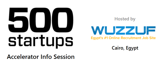 500 Startups Info Session in Cairo Egypt